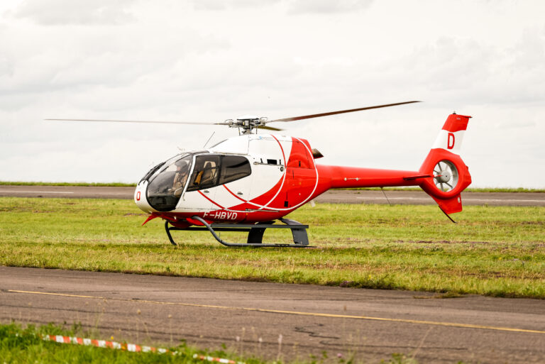 Aviaco dismantle its first EC 120
